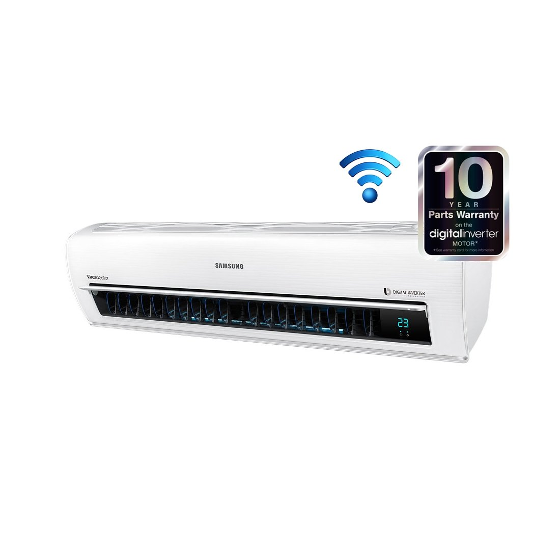WiFi Inverter Installed Cool Wizard Air Conditioning and #0693C5